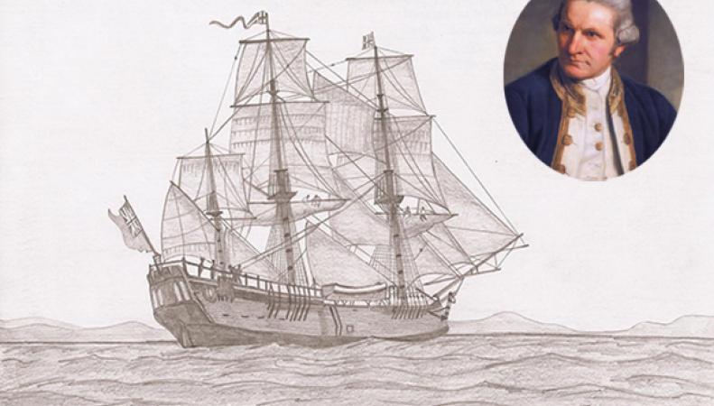 Корабль Джеймса Кука найден в США