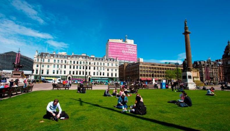 Синоптики пообещали шотландцам тридцатиградусную жару
