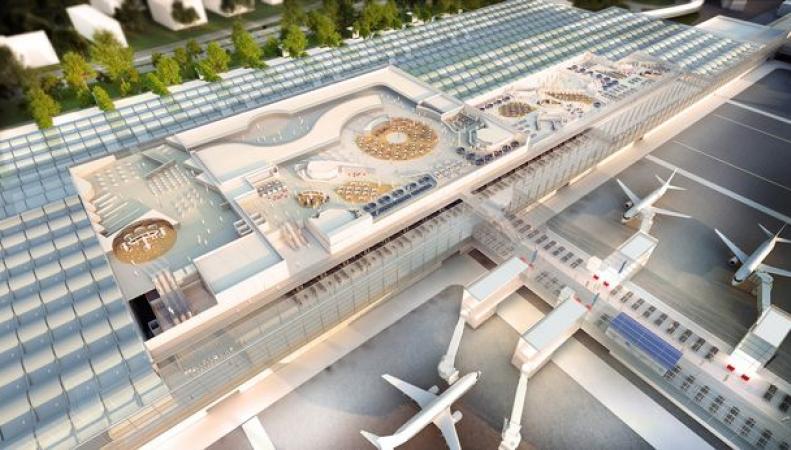 Супертерминал в аэропорту Манчестера сдадут в эксплуатацию в 2020 году