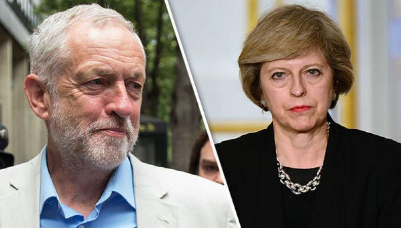 Разрыв голосов между основными британскими политическими партиями резко увеличился фото:express.co.uk