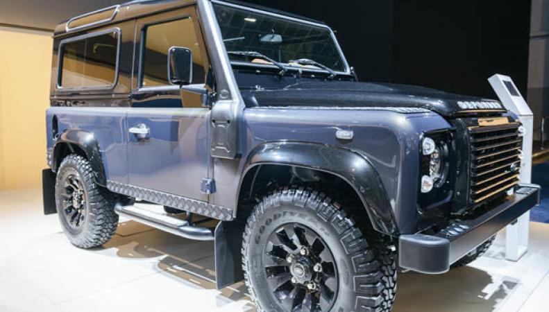 Land Rover отметил семидесятилетний юбилей