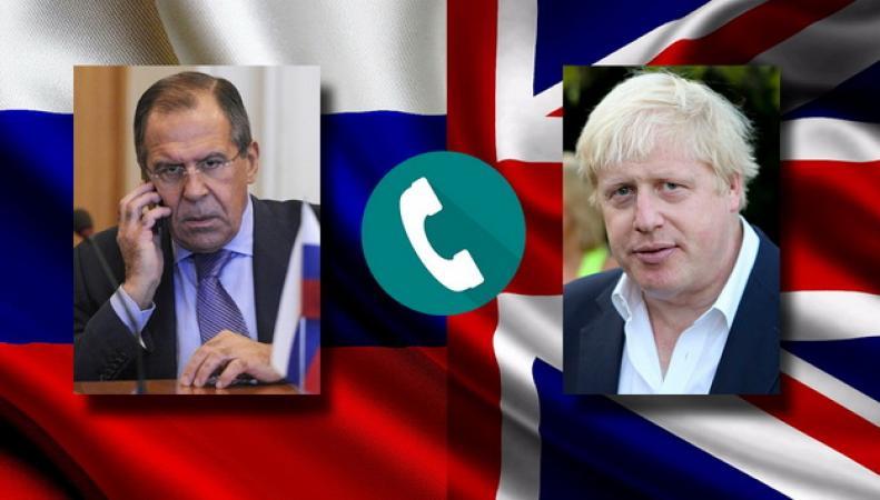 Лавров и Джонсон провели телефонный разговор