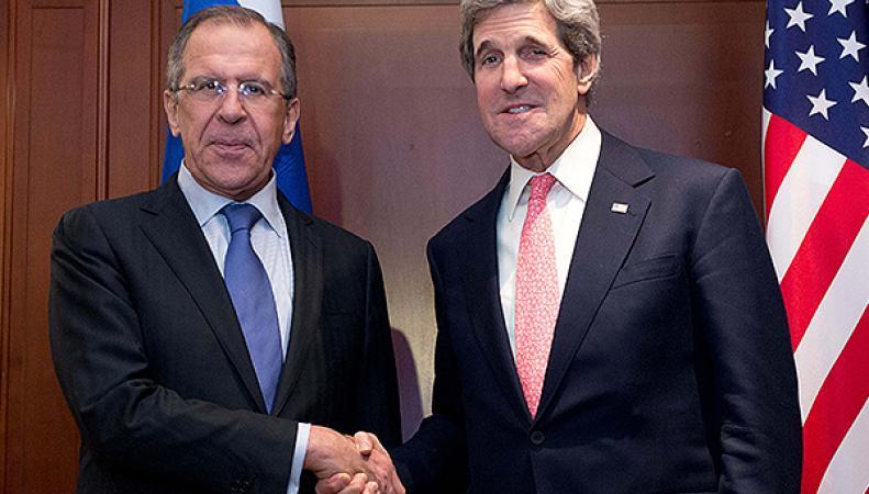 Лавров и Керри обсудили снятие санкций