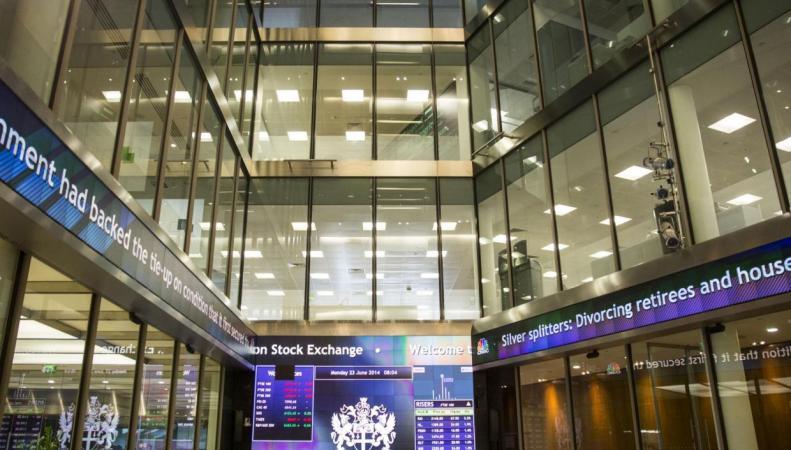 Лондонская биржа закончила год на позитивной ноте