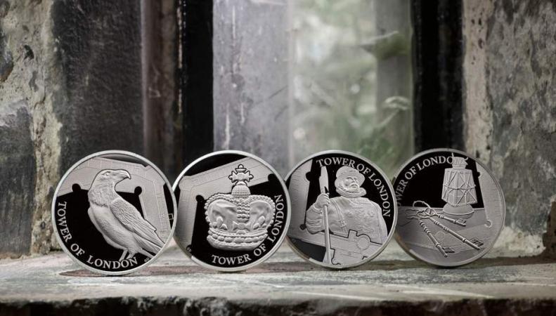 Royal Mint выпустил коллекционные монеты о Тауэре
