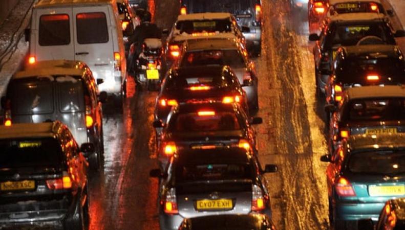 Автомобилисты застряли в четырехчасовой пробке на шоссе М5 в Девоне