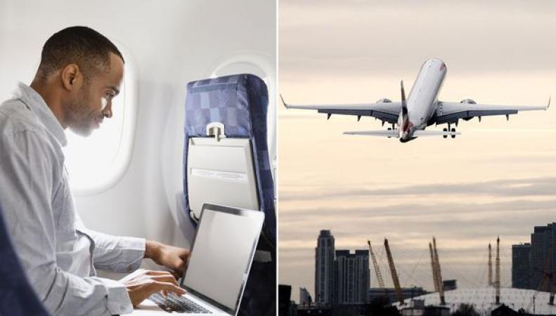 «Запрет на лэптопы» может быть распространен на все рейсы в Великобританию фото:mirror.co.uk
