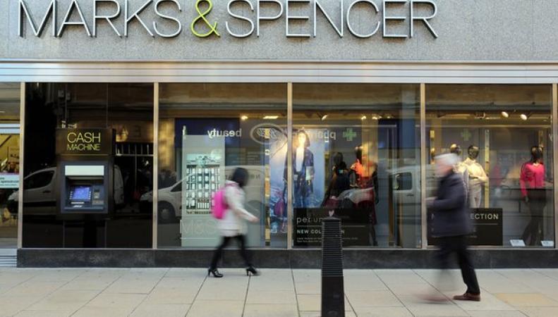 Marks & Spencer закроет десятки магазинов в Великобритании