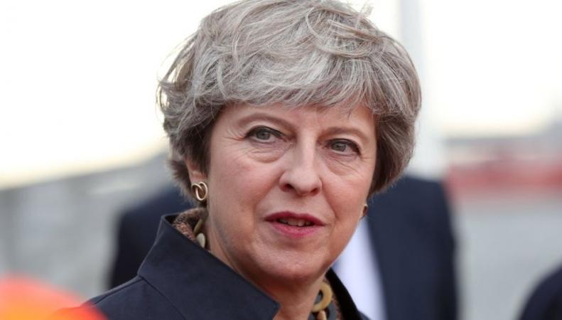 Тереза Мэй назвала дату своей отставки фото:bbc