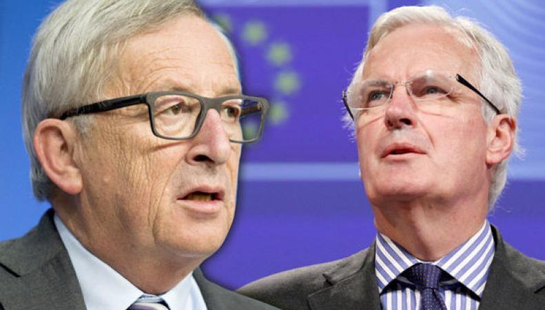 Юнкер выставил на переговоры по Brexit «самого опасного человека в Европе» фото:express.co.uk