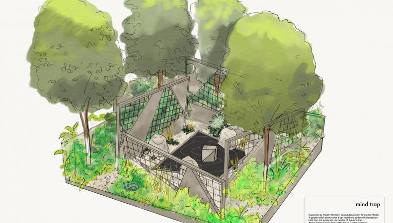 Сад Депрессии появится на площадке Chelsea Flower Show