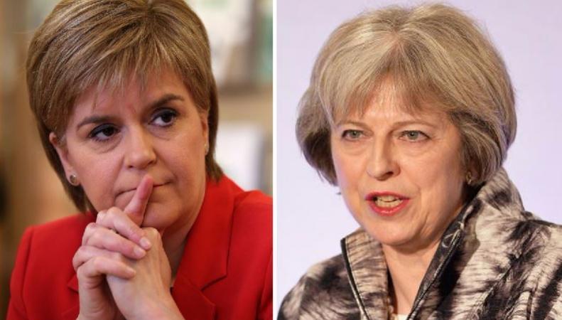 Премьер Англии назвала личным приоритетом сохранение Шотландии всоставе Соединенного Королевства