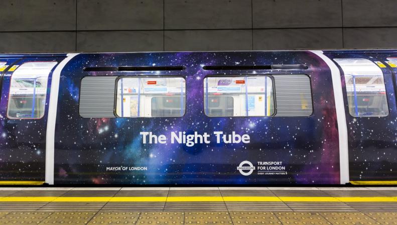Определена дата запуска третьей линии ночного метро в Лондоне фoто:standard.co.uk
