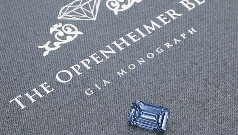 Аукционный дом Christie`s выставил на торги уникальный бриллиант фото:theguardian.com