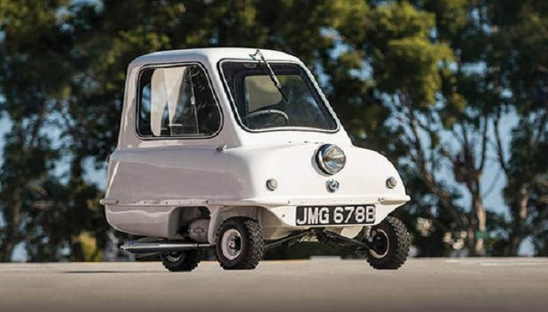 Самый маленький автомобиль в мире выставят на продажу