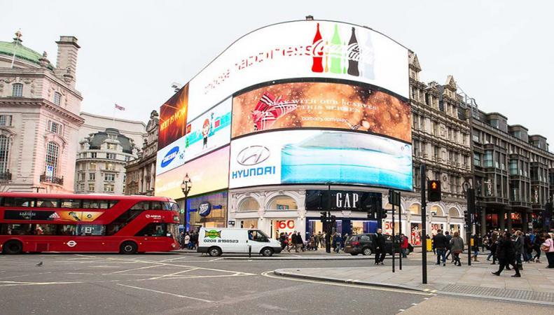 На Пикадилли появится огромный рекламный экран фото:standard.co.uk