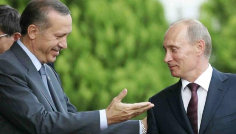 Путин, Эрдоган