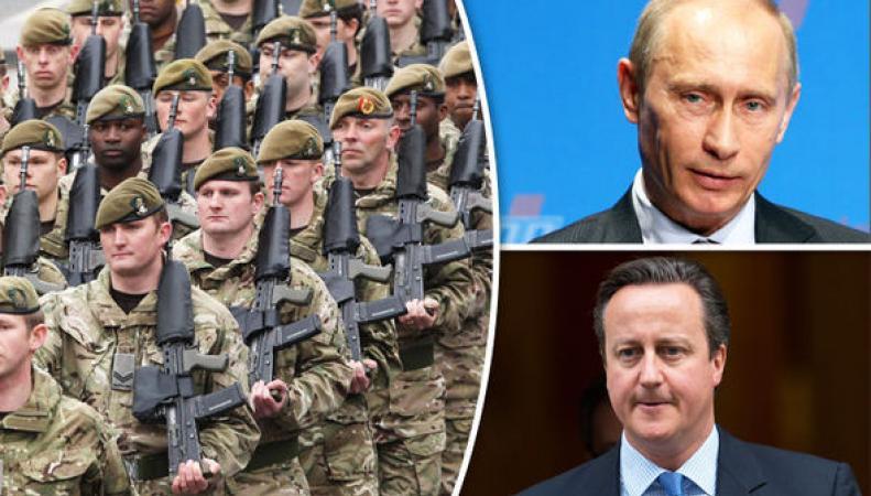 Дэвид Кэмерон готов воевать против Путина