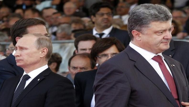 """На Украине придумали """"страшный план Путина"""" ради второго срока Порошенко"""