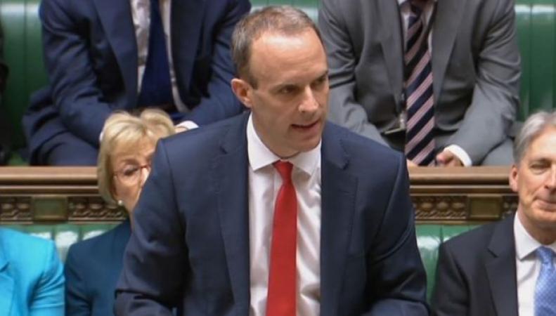 В Палату общин внесен документ, спровоцировавший отставку министров по Брекзиту