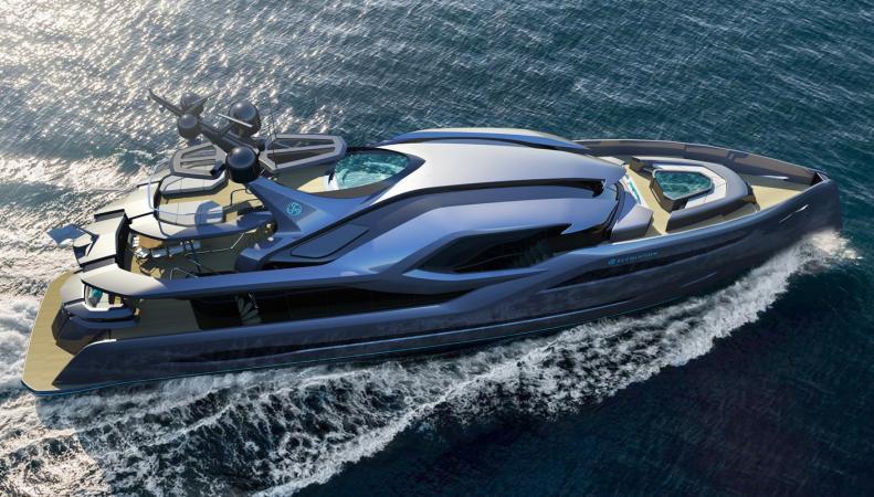 Энди Во представил новую 45-метровую яхту