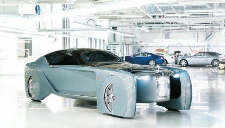 Rolls-Royce представил прототип беспилотного автомобиля фото:irishexaminer