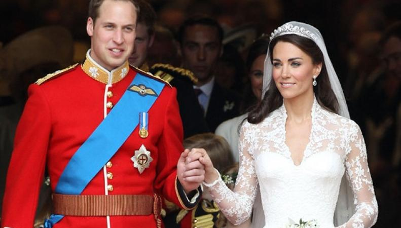 Принц Уильям и Кейт отметили пятилетие бракосочетания фото:dailymail.co.uk
