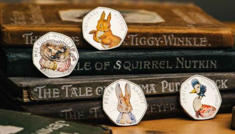 Royal Mint выпустит новые монеты со сказочными персонажами фото:mirror.co.uk