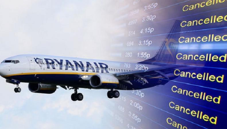 Ryanair объявил о второй волне отмены рейсов