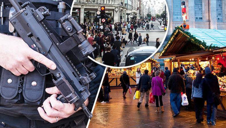 Защита британцев от терактов на Рождество