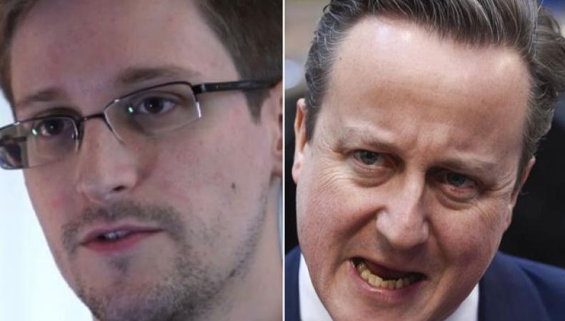 Сноуден и Кэмерон