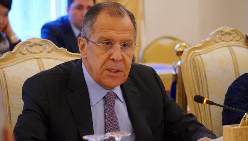 Лавров прокомментировал ситуацию с оружием в руках террористов