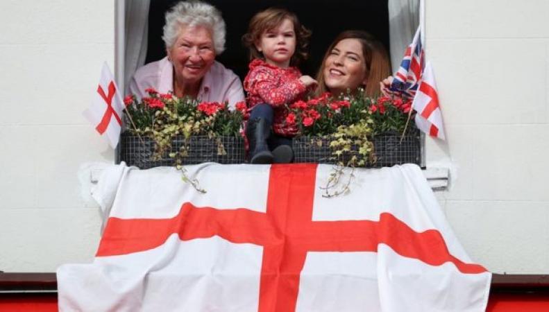 Празднование Дня Святого Георгия в Англии растянулось на целую неделю