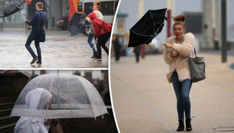 Холода в Великобритании уступят дорогу сильным ливням и штормам