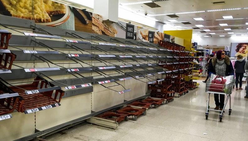 В Великобритании подсчитали ущерб от затяжного снежного шторма