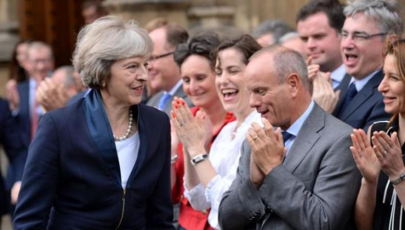 Тереза Мэй объявлена новым лидером Партии консерваторов фото:telegraph.co.uk