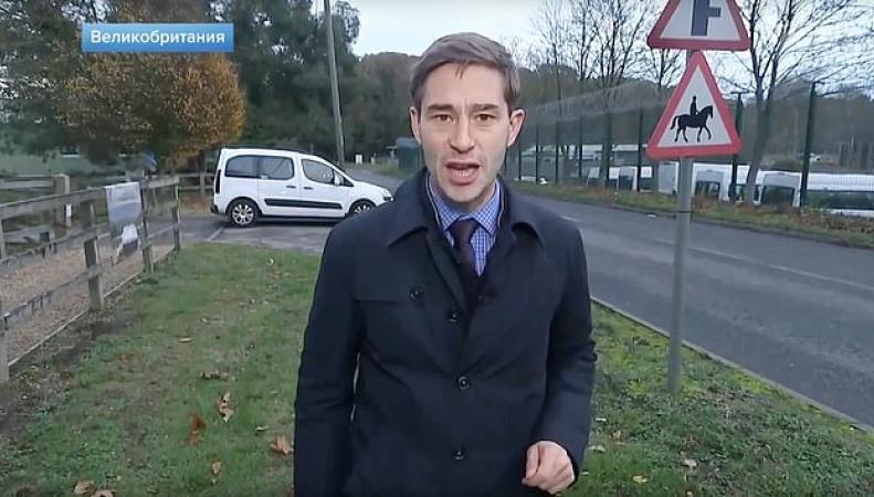 Российских телевизионщиков задержали у сверхсекретной военной базы в Беркшире