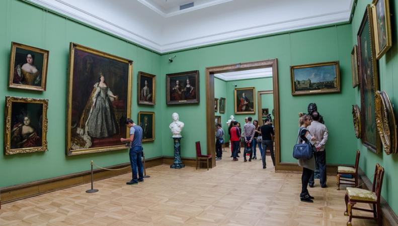 Выставка Третьяковки началась в Лондоне