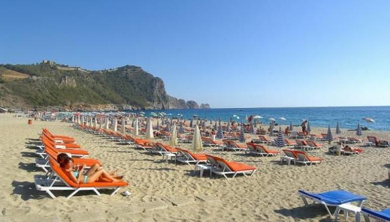 Опустевший Турецкий пляж