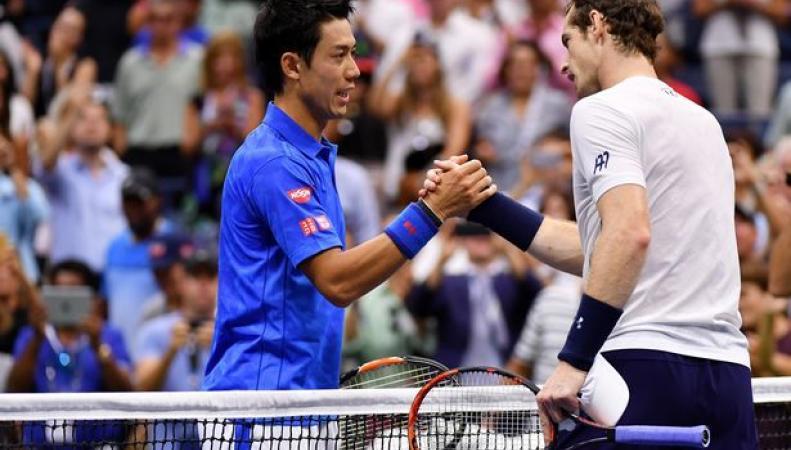 Энди Маррэй выбыл из турнира US Open после трудного четвертьфинала фото:mirror.co.uk