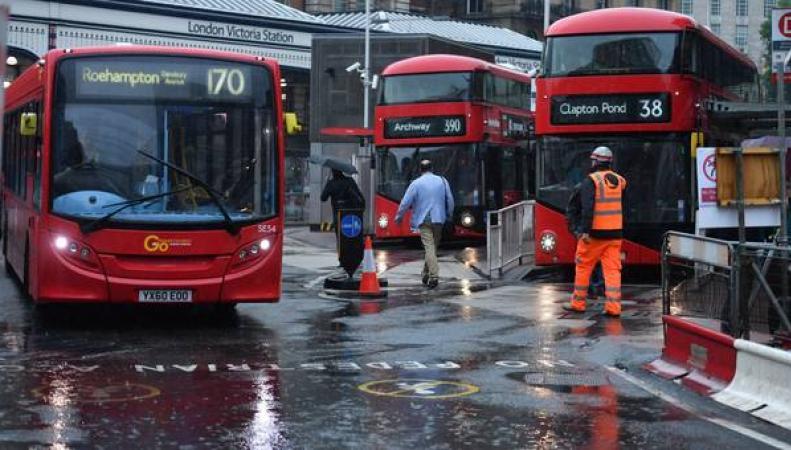 Дожди и грозы в Лондоне продолжатся до выходных