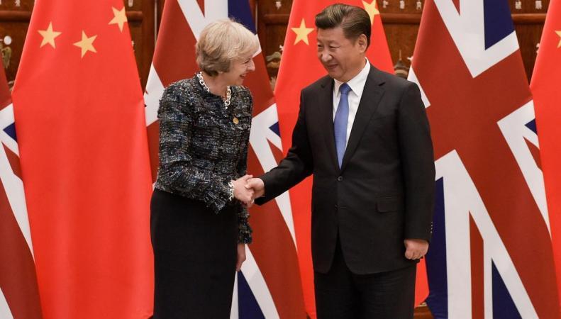Тереза Мэй отправилась в Пекин с делегацией британских бизнесменов
