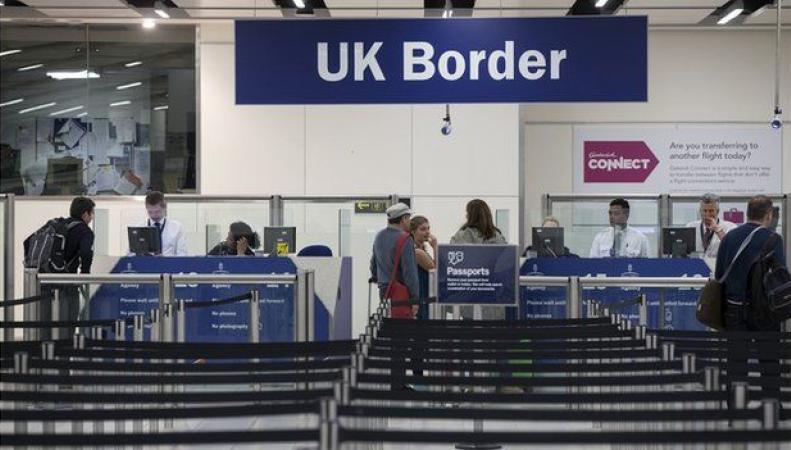 британский погранконтроль