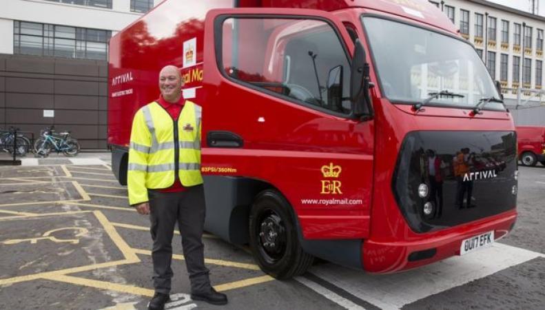 Лондонские почтальоны пересядут на электромобили фото:bbc
