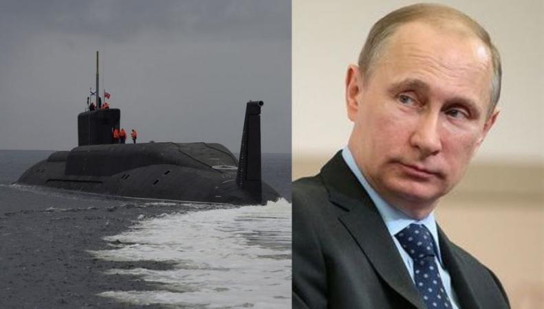подлодки РФ и Путин