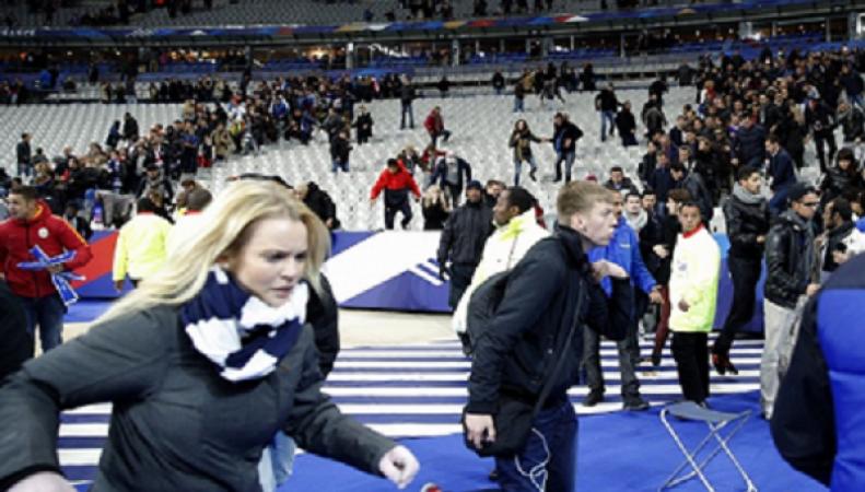 Теракт на стадионе