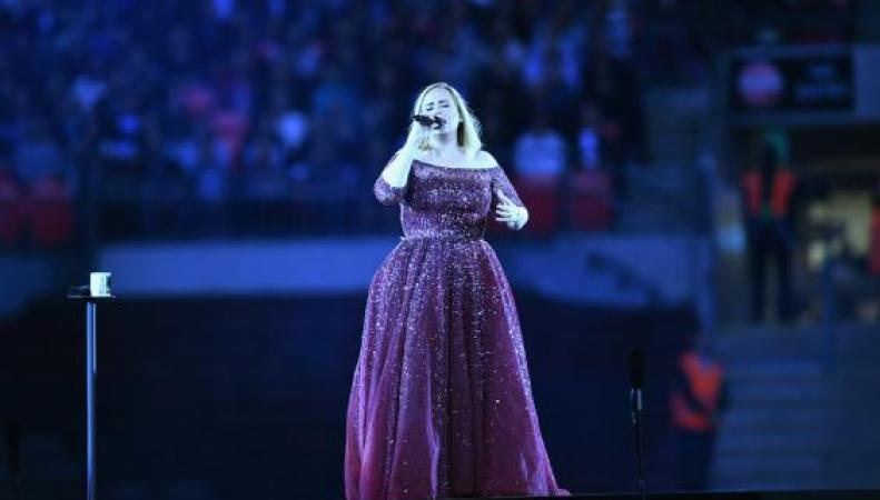 Фанаты Адель устроили хоровую спевку у стадиона Уэмбли после отмены концерта певицы фото:standard.co.uk
