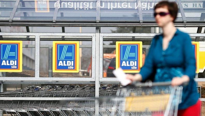 Aldi впервые вошел в пятерку крупнейших сетей гипермаркетов в Великобритании фото:bbc.com