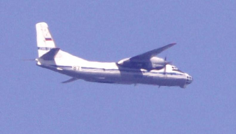 Российский самолет-разведчик замечен в небе над Девоном фото:dailymail