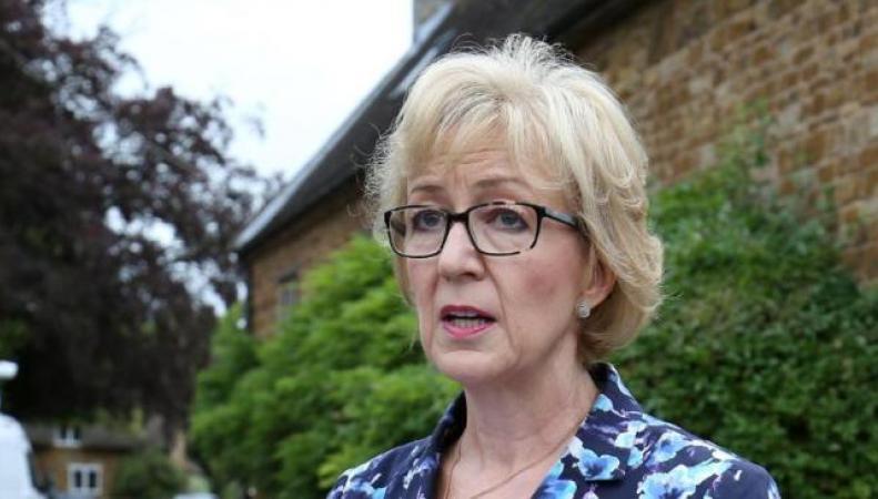 Андреа Лидсом снимет свою кандидатуру с выборов премьер-министра фото:bt.com